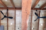 hand crafted timber trusses